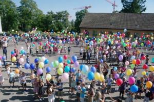 Ballonesteigenlassen 2016